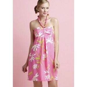 Lilly pulitzer hotty pink twirlers Betsy dress 0